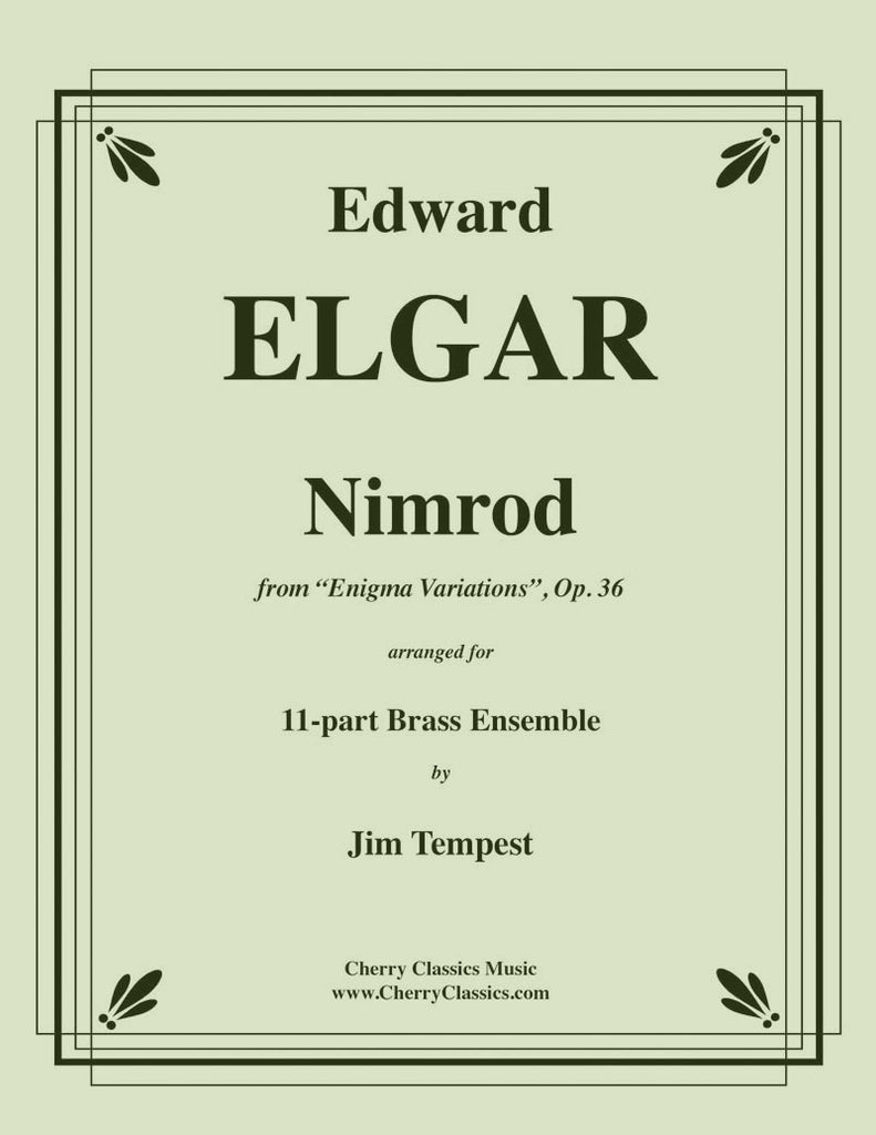 Elgar - Nimrod from Enigma Variations for Brass Ensemble - Cherry Classics Music