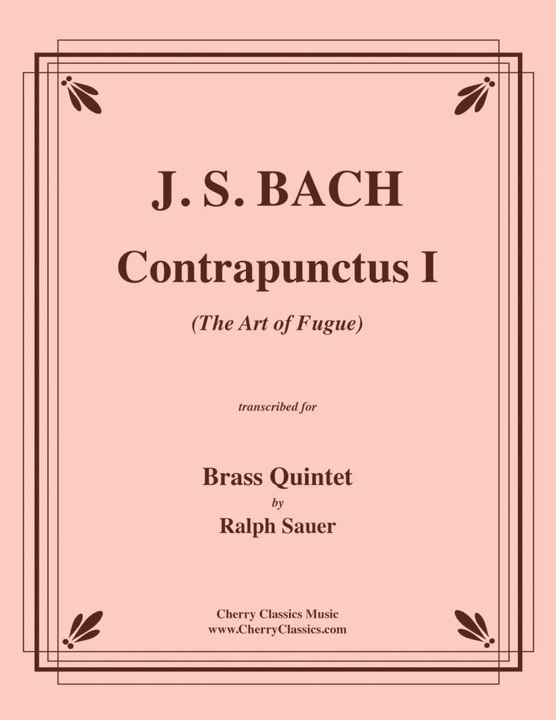 "Bach - Contrapunctus I from ""The Art of Fugue"" for Brass Quintet - Cherry Classics Music"