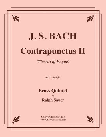 "Bach - Contrapunctus IX from ""The Art of Fugue"" for Brass Quintet"
