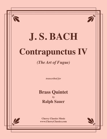 Bach - Contrapunctus XII from The Art of Fugue for Brass Quintet