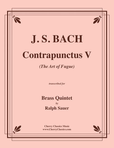 Bach - Eight Little Fugues for Four Trombones BWV 553-560