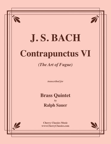 "Bach - Choral No. 64 from Christmas Oratorio ""Now Vengeance Hath Been Taken"" for Brass Quintet"
