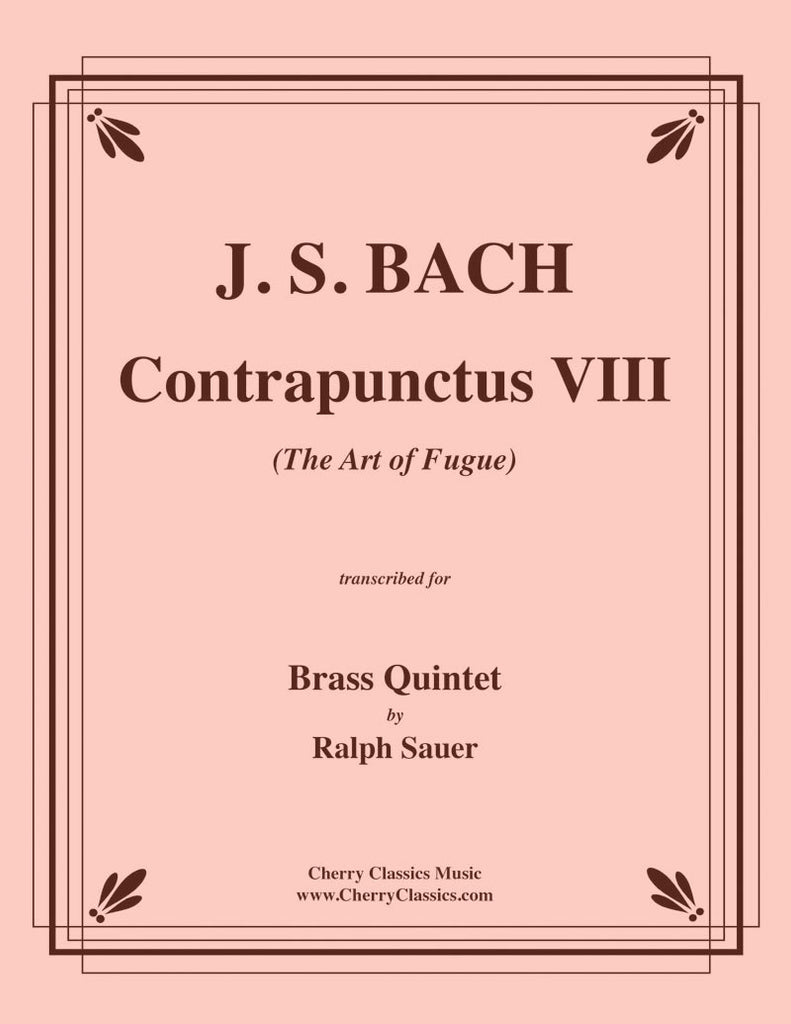 Bach - Contrapunctus VIII from The Art of Fugue for Brass Quintet - Cherry Classics Music