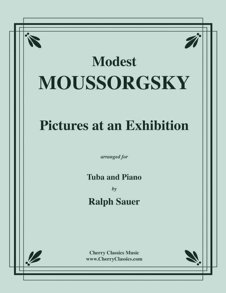 Mussorgsky - Pictures At An Exhibition for Tuba or Bass Trombone and Piano - Cherry Classics Music