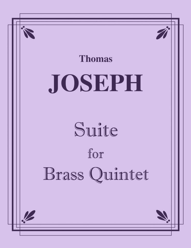 Joseph - Suite for Brass Quintet - Cherry Classics Music