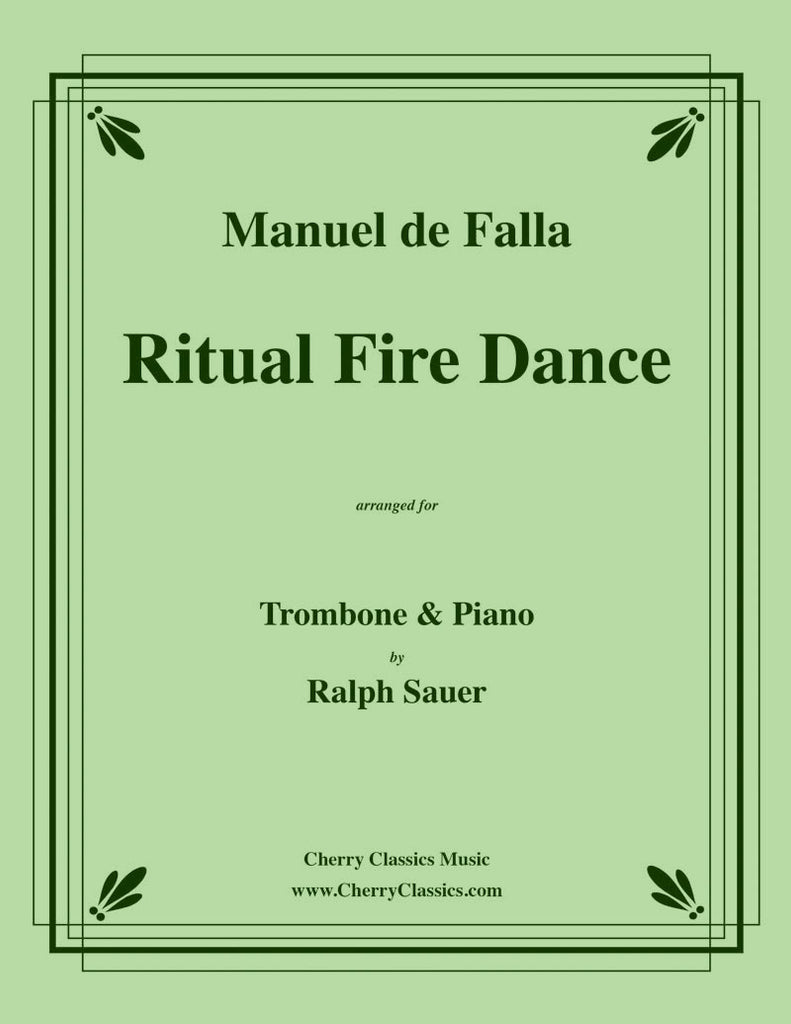 Falla - Ritual Fire Dance for Trombone and Piano - Cherry Classics Music