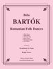 Bartok - Romanian Folk Dances for Trombone & Piano - Cherry Classics Music