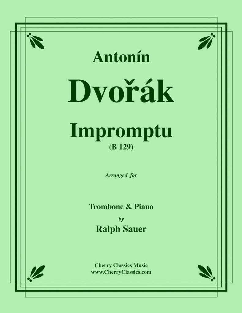 Dvorak - Impromptu for Trombone & Piano - Cherry Classics Music