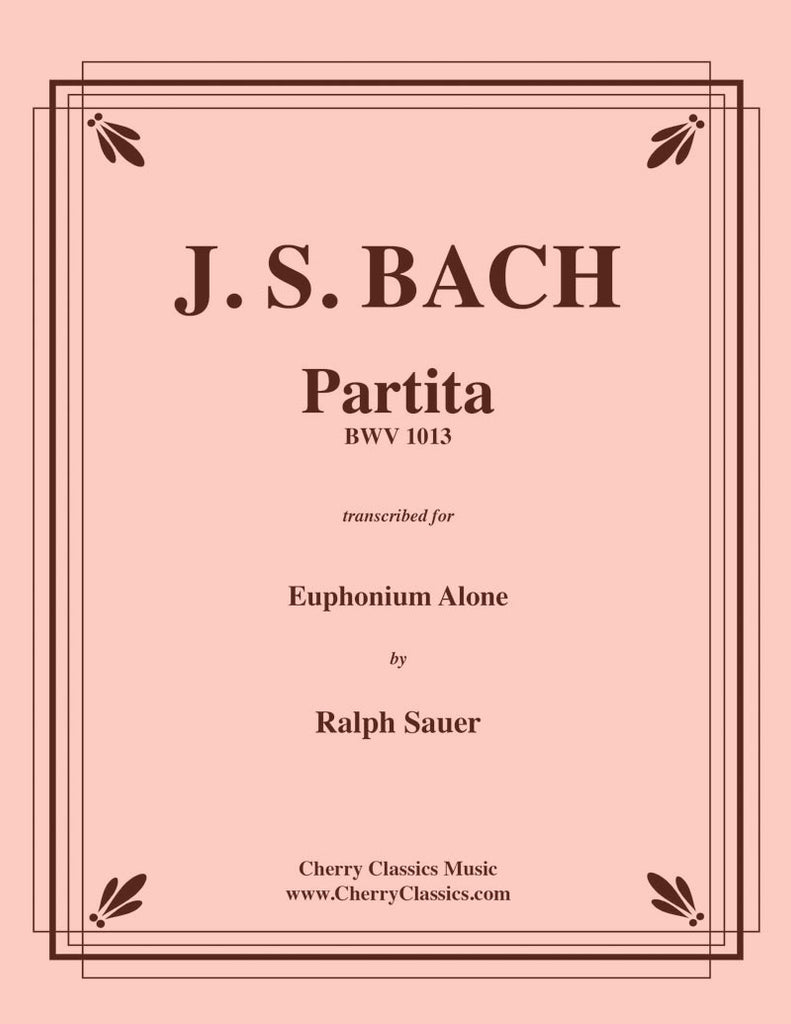 Bach - Partita BWV 1013 for Solo Euphonium - Cherry Classics Music