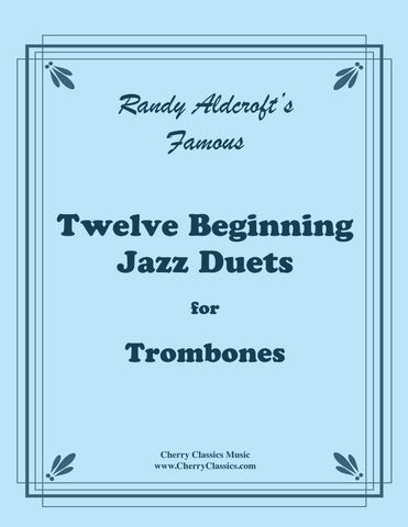 Aldcroft - Famous Jazz Duets for Trumpets. Volume 3