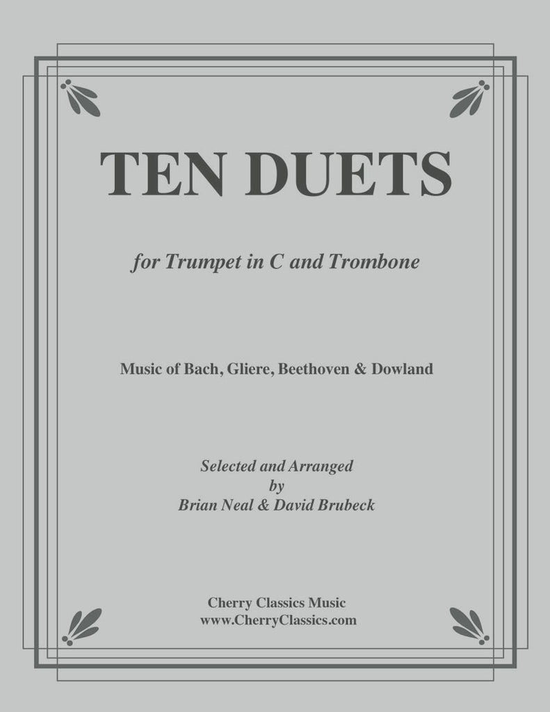 Various - Ten Duets for Trumpet and Trombone - Cherry Classics Music