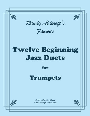 Aldcroft - Famous Jazz Duets for Trombones. Volume 2