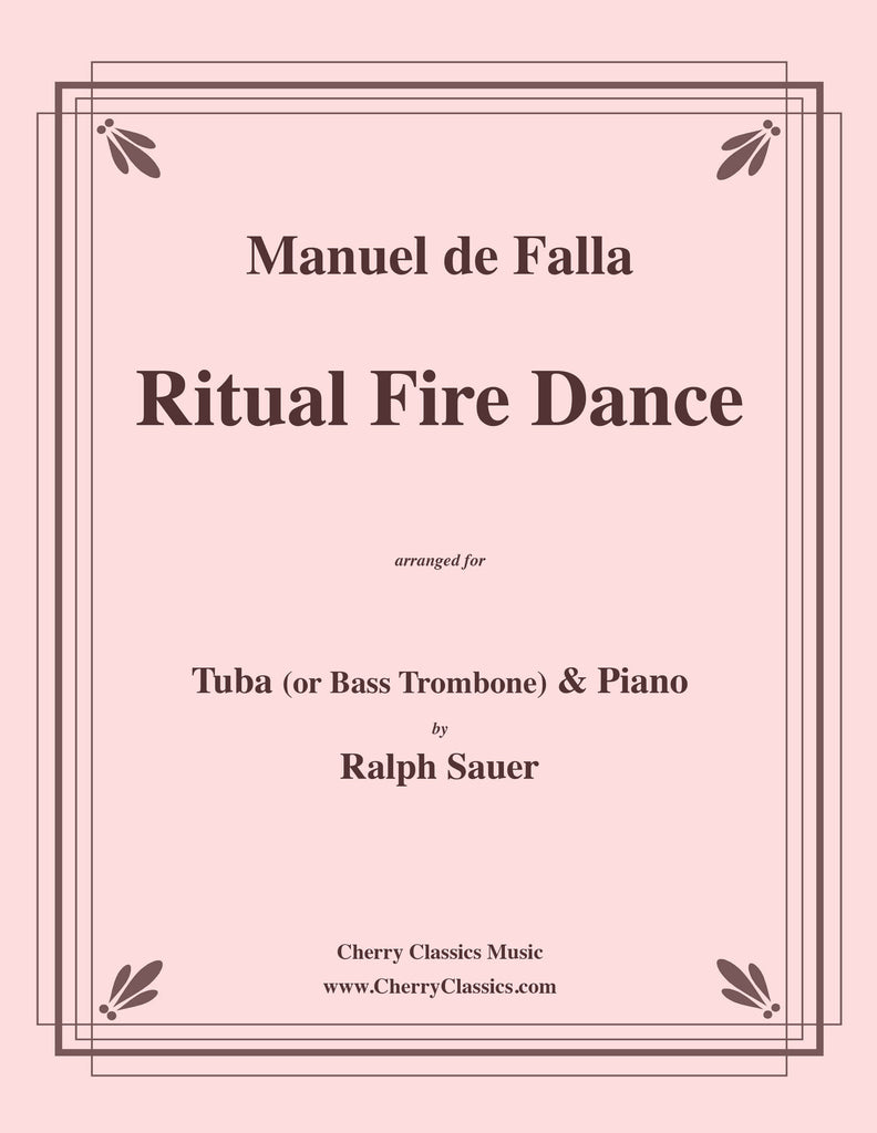 Falla - Ritual Fire Dance for Tuba or Bass Trombone and Piano - Cherry Classics Music