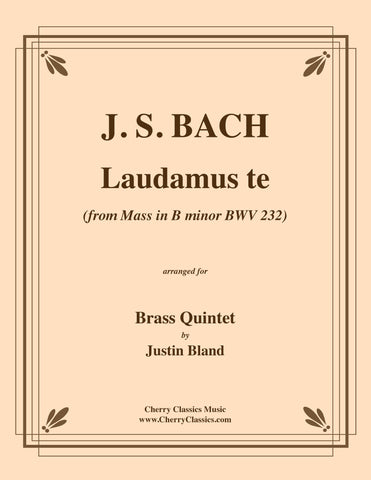 Anonymous - Præludio et variazioni super Resonet in Laudibus for Brass Quartet and Organ