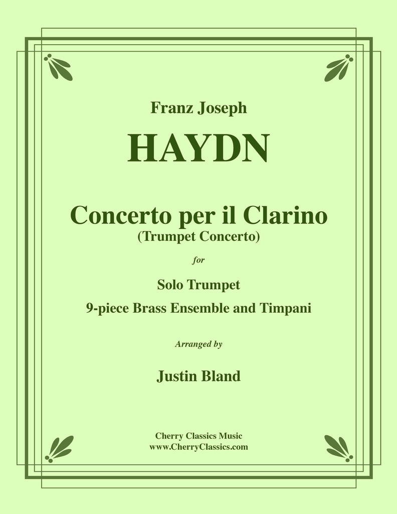 Haydn - Concerto for Trumpet in E-flat, Brass Ensemble and Timpani - Cherry Classics Music