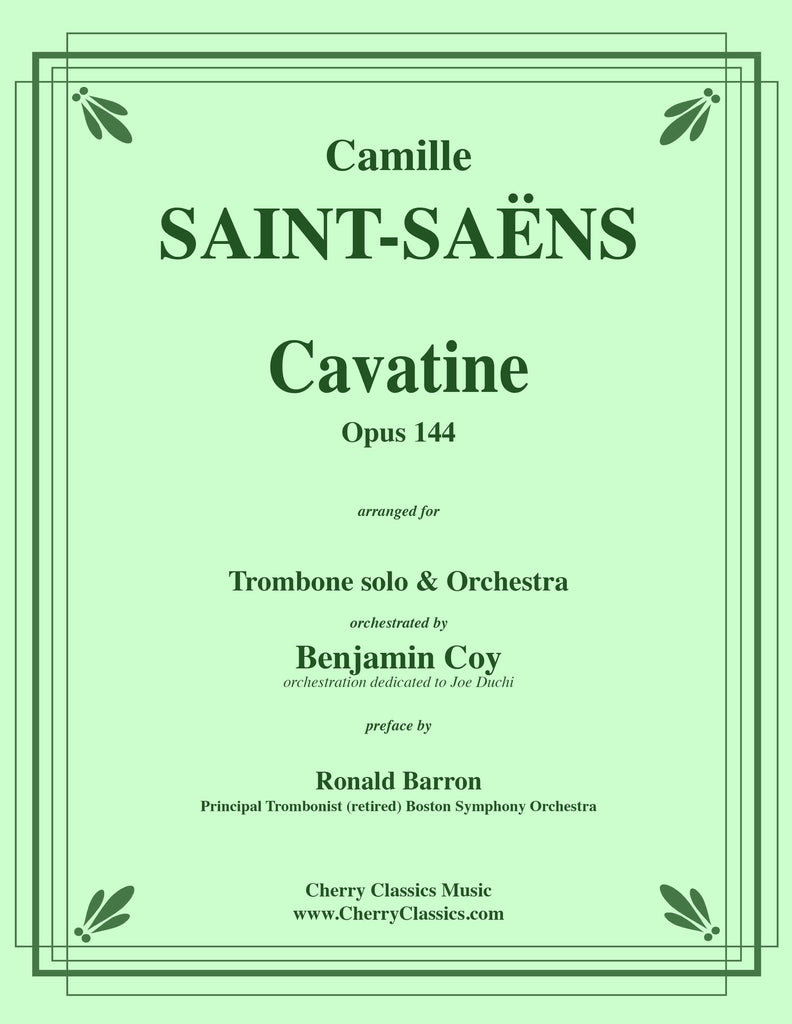 Saint Saens - Cavatine for Trombone and Orchestra - Cherry Classics Music