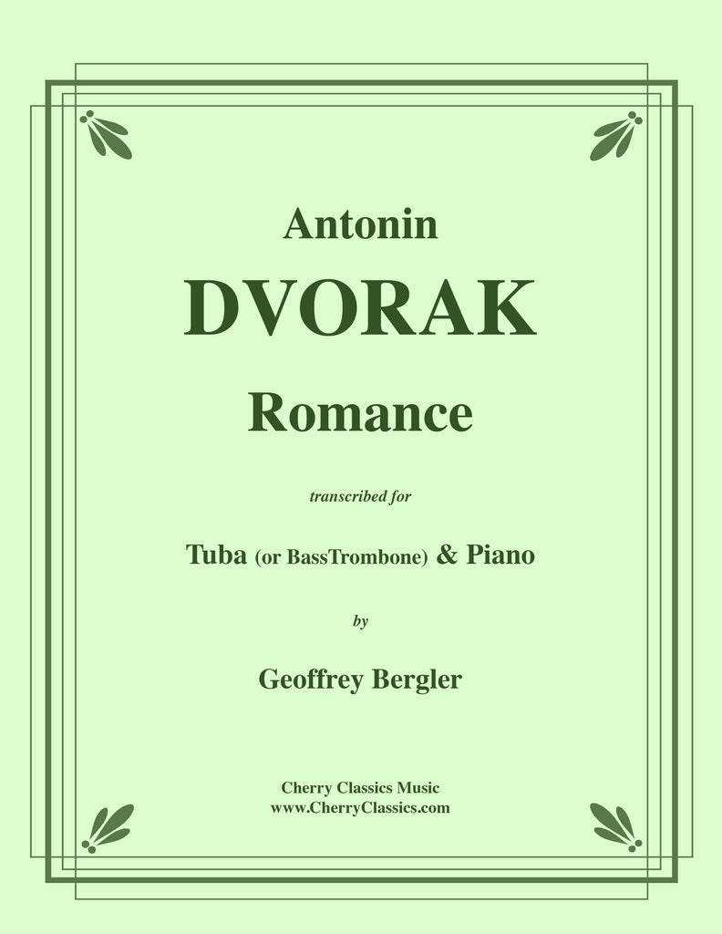 Dvorak - Romance for Tuba or Bass Trombone and Piano - Cherry Classics Music