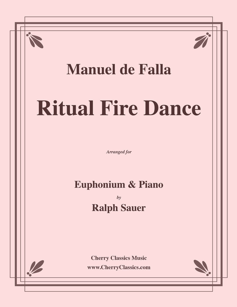 Falla - Ritual Fire Dance for Euphonium and Piano - Cherry Classics Music