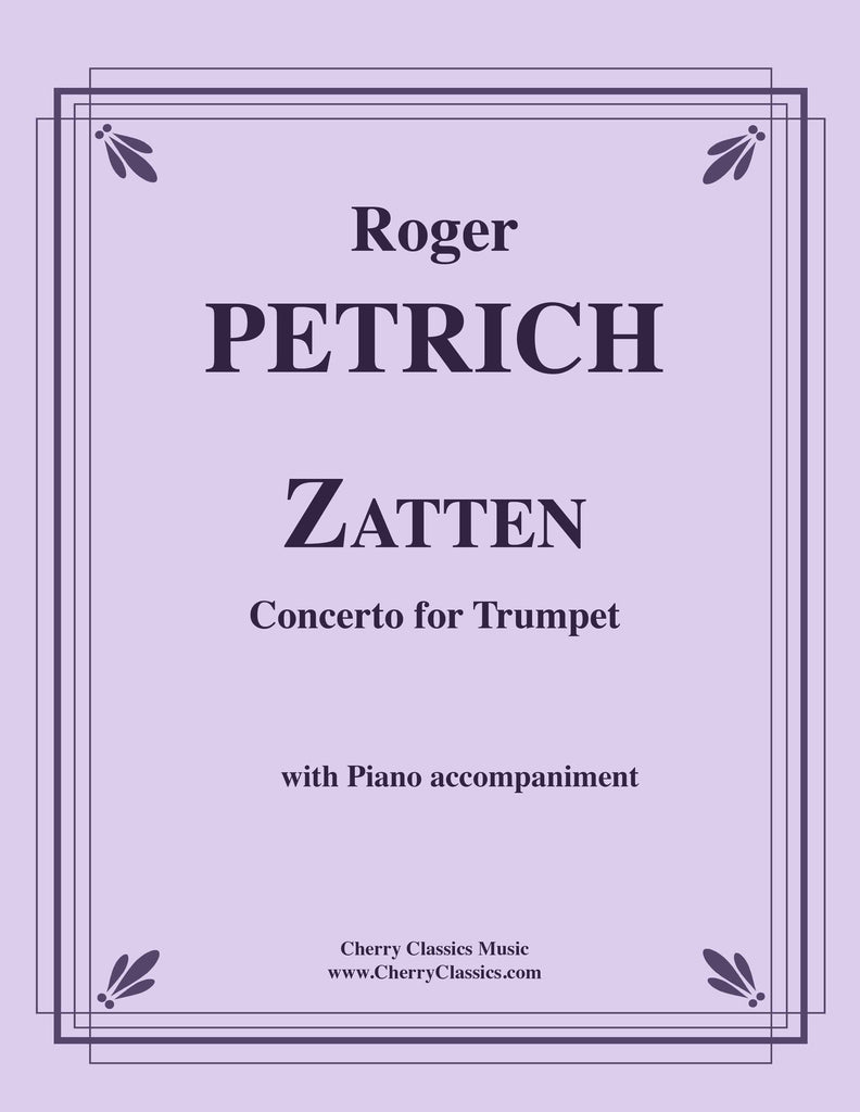Petrich - Zatten Concerto for Trumpet and Piano - Cherry Classics Music