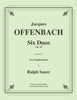 Offenbach - Six Duos for Two Euphoniums - Cherry Classics Music