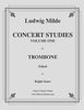 Milde - Concert Studies Volume 1 for Trombone