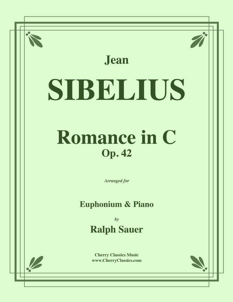 Sibelius - Romance in C, Op. 42 for Euphonium and Piano - Cherry Classics Music