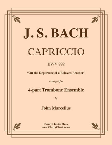 Bach - Art of Fugue, BWV 1080 Volume 4 for Four Part Trombone Ensemble