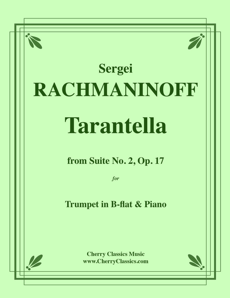 Rachmaninoff - Tarantella from Op. 17 for Trumpet & Piano - Cherry Classics Music