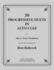 Babcock - 50 Progressive Duets in Alto Clef for Trombones - Cherry Classics Music