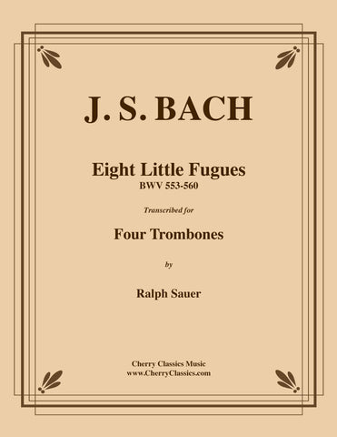 Bach - Jesu, meine Freude (Jesus, my joy) BWV 227 for 8-part Trombone Ensemble