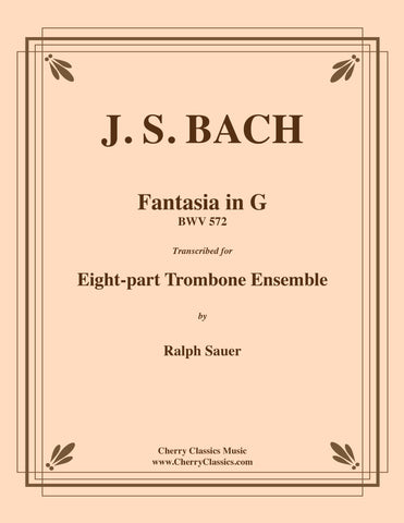 Bach - Toccata & Fugue in D minor for 8-part Trombone Ensemble