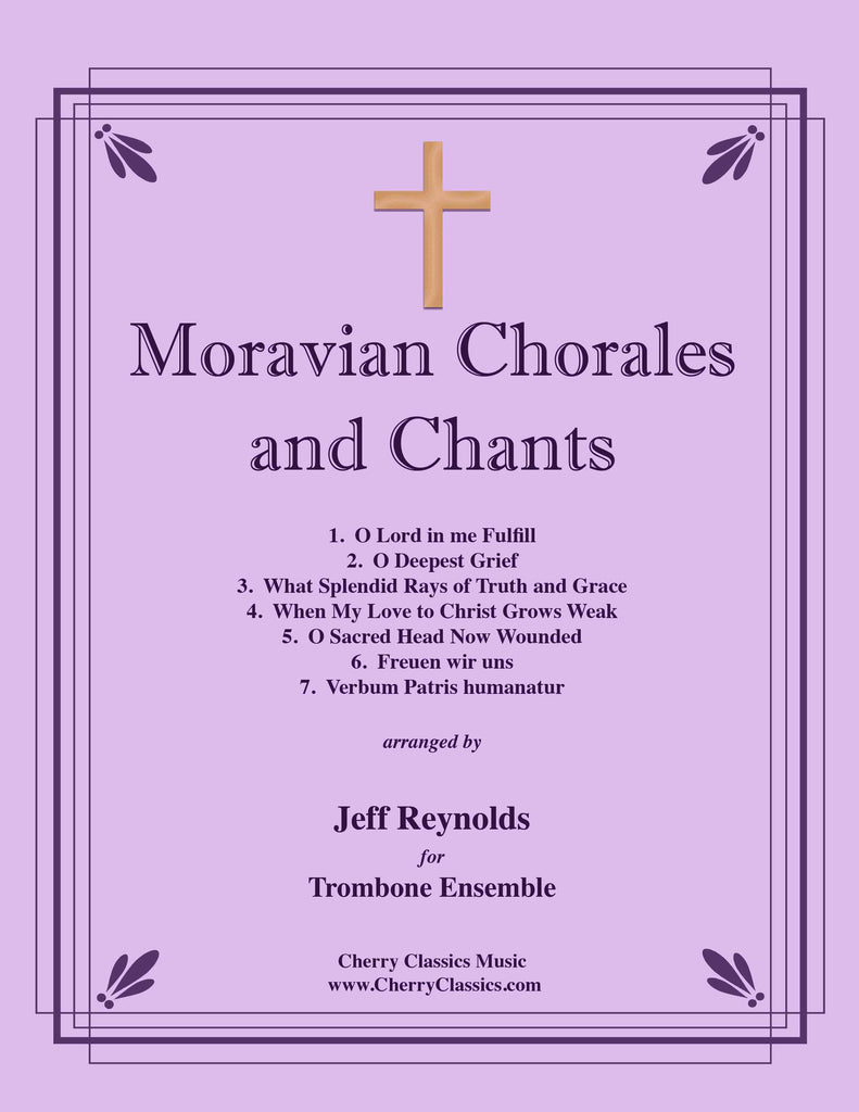 Various - Moravian Chorales and Chants for Trombone Ensemble - Cherry Classics Music