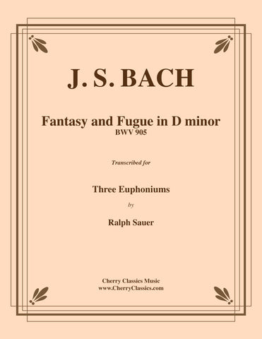 Bach - Fantasy and Fugue in D minor BWV 905 for Trombone Trio