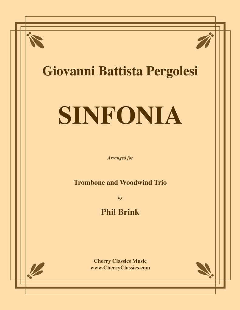 Pergolesi - Sinfonia for Trombone and Woodwind Trio - Cherry Classics Music