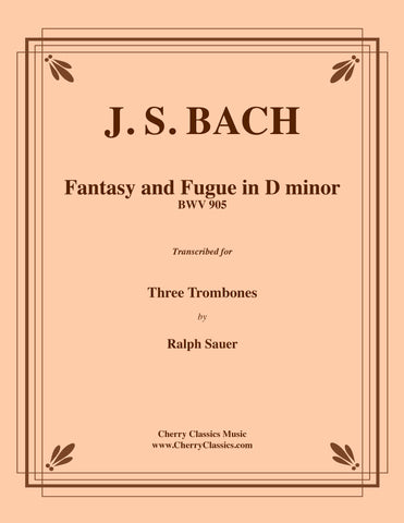Bach - Art of Fugue, BWV 1080 Complete Collection for Four Part Trombone Ensemble