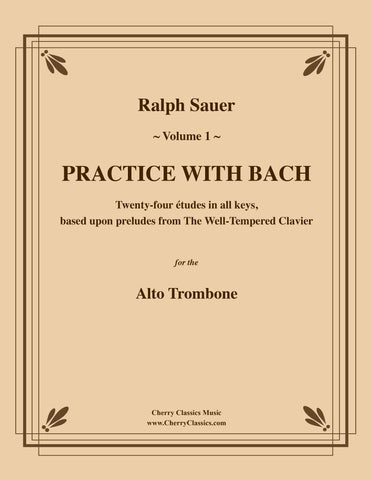 Ritt - Melodious Accompaniments to Rochut Etudes Book 1 for Trombone or Euphonium
