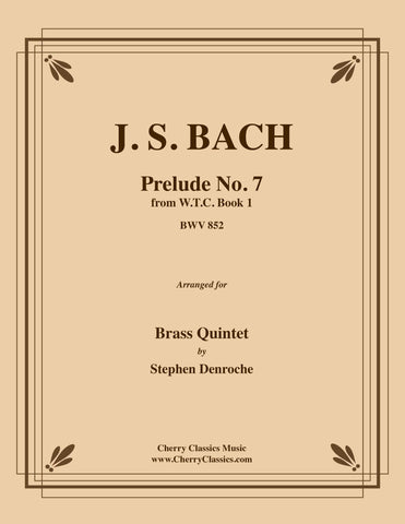 Bach - Jesu Joy of Man's Desiring from Cantata 147 for Brass Quintet
