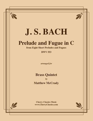 Bach - Aria from Goldberg Variations BWV 988 for Brass Quintet