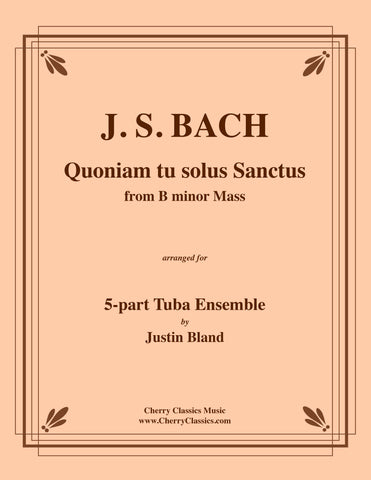 Bruckner - Os Justi - For 8-Part Tuba Ensemble
