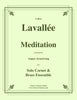 Lavallée - Meditation for solo Cornet and Brass Ensemble
