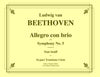 Beethoven - Allegro con brio from Symphony No. 5 for 16-part Trombone Choir with optional Timpani - Cherry Classics Music
