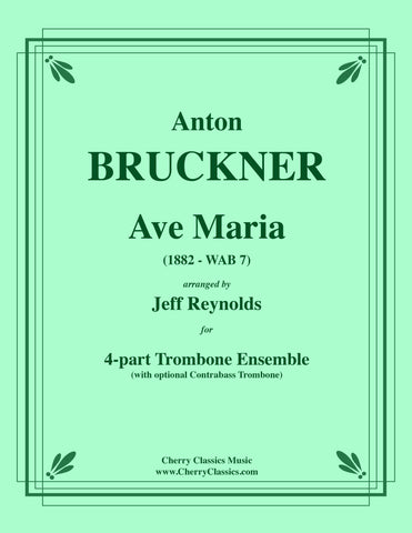 Bruckner - MOTET: Libera Me for 5-part Trombone Ensemble