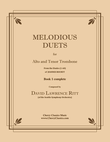 Gillis - Ten More Duets for Bass Trombone or Tuba