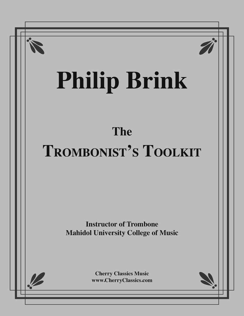 Brink - The Trombonist's Toolkit - Cherry Classics Music