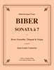 Biber - SONATA à 7 for Brass Ensemble, Organ and optional Timpani - Cherry Classics Music