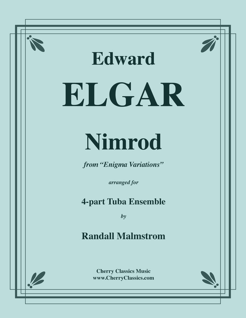 Elgar - Nimrod from Enigma Variations for 4-part Tuba Ensemble - Cherry Classics Music