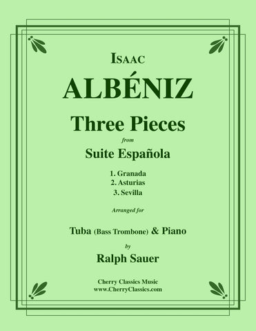 Debussy - Two Selections from the Children's Corner for Tuba or Bass Trombone and Piano