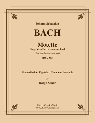 Bach - Art of Fugue, BWV 1080 Volume 3 for Four Part Trombone Ensemble