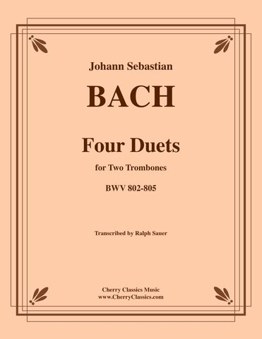 "Bach - Contrapunctus II from ""The Art of Fugue"" for Brass Quintet"