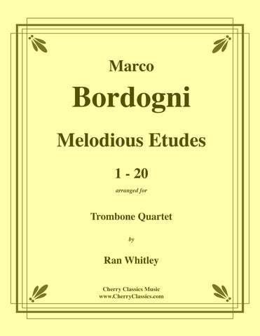 Monti - Csardas for Trombone Quartet